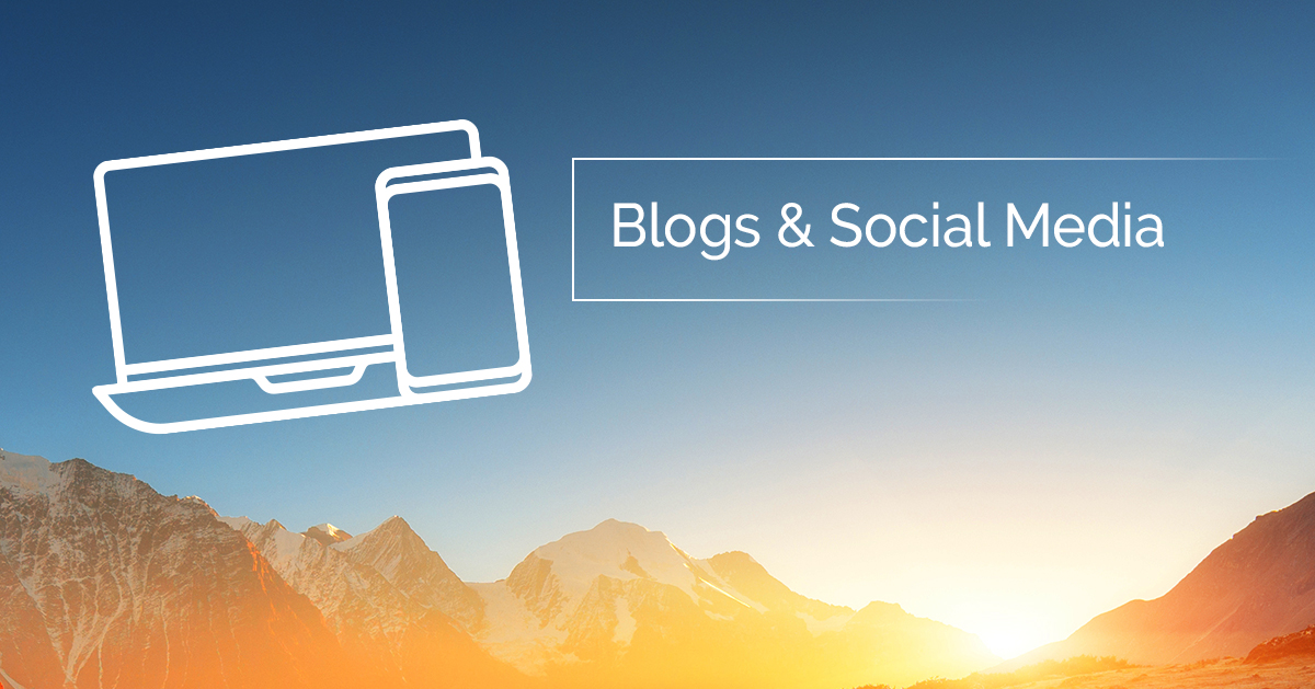 Blogs and Social Media